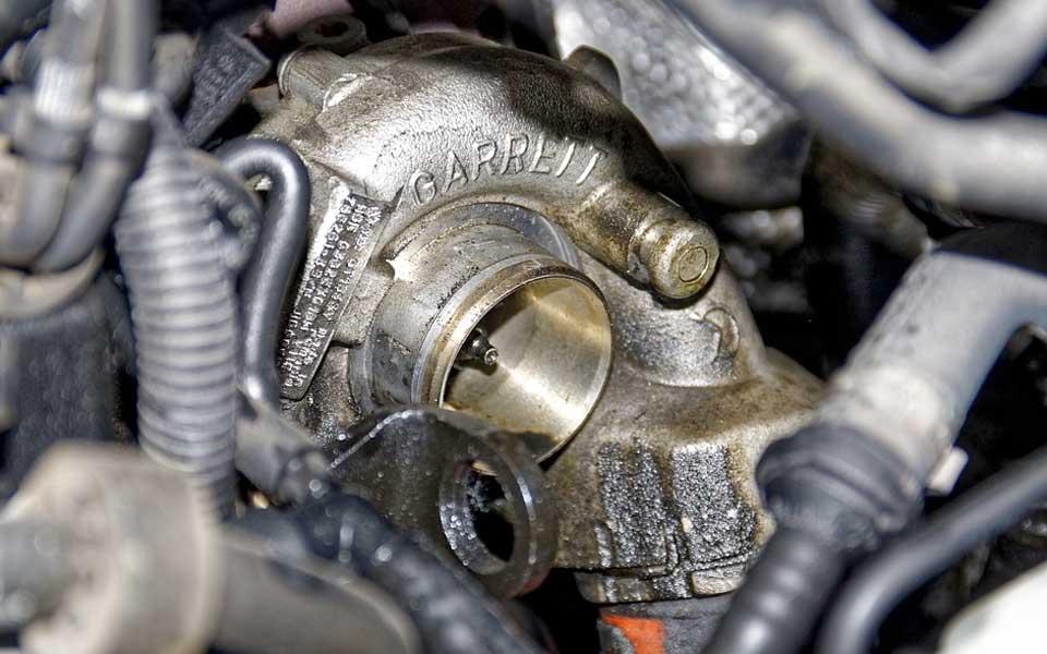 Lubricación en el turbocompresor