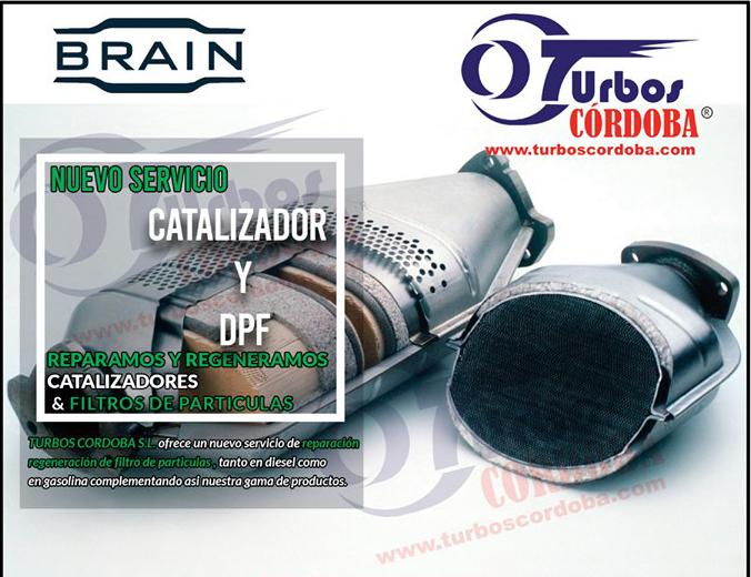 MOTOR OK se hace eco de la alianza de Turbos Córdoba con Catalizadores Brain