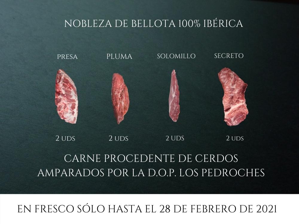 NOBLEZA DE BELLOTA 100% IBÉRICA (FRESCO)