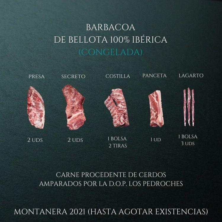 BARBACOA DE BELLOTA 100% IBÉRICA (CONGELADA)
