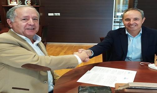 """Mayo 2021. El Colegio de Dentistas de Córdoba y la Clínica de Fisioterapia """"Always On"""" firman un convenio de colaboración"""