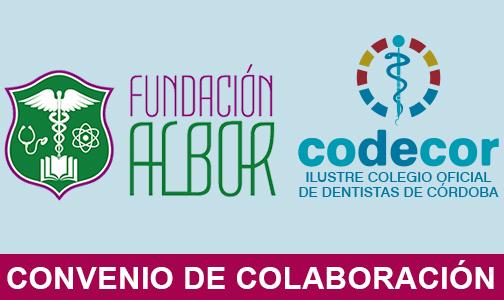 """Enero 2020. El Colegio de Dentistas de Córdoba y el Instituto de F.P. """"CDP Fundación Albor"""" se unen en beneficio de los futuros Higienistas Dentales"""