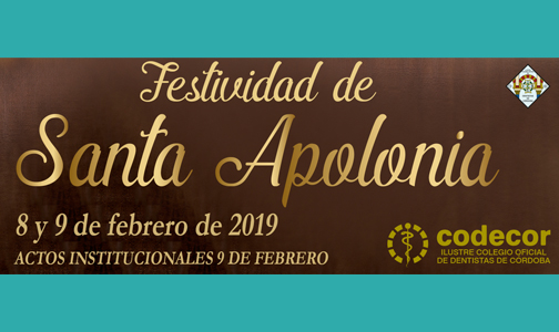 Celebramos Santa Apolonia el próximo 9 de febrero ¡No faltes!