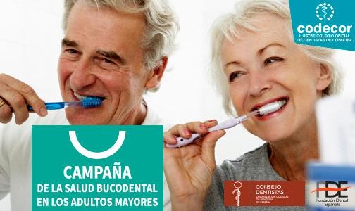 Abril 2021. Campaña Salud Oral y Mayores