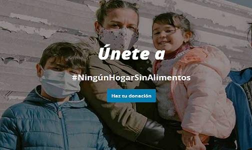 "Mayo 2021. Campaña ""Ningún hogar sin alimentos"""