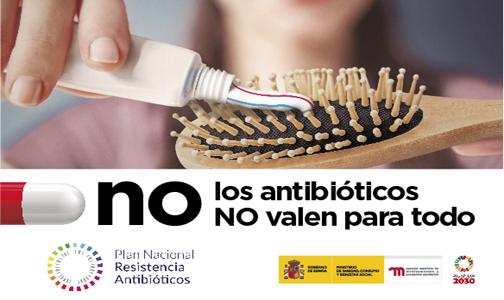 """Campaña para el uso prudente de los antibióticos: """"Los antibióticos NO valen para todo"""""""