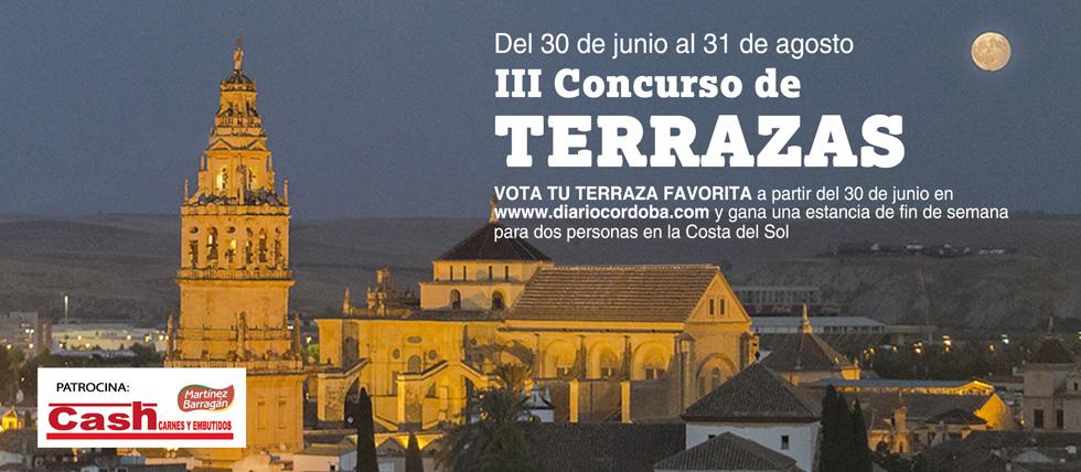 III CONCURSO DE TERRAZAS