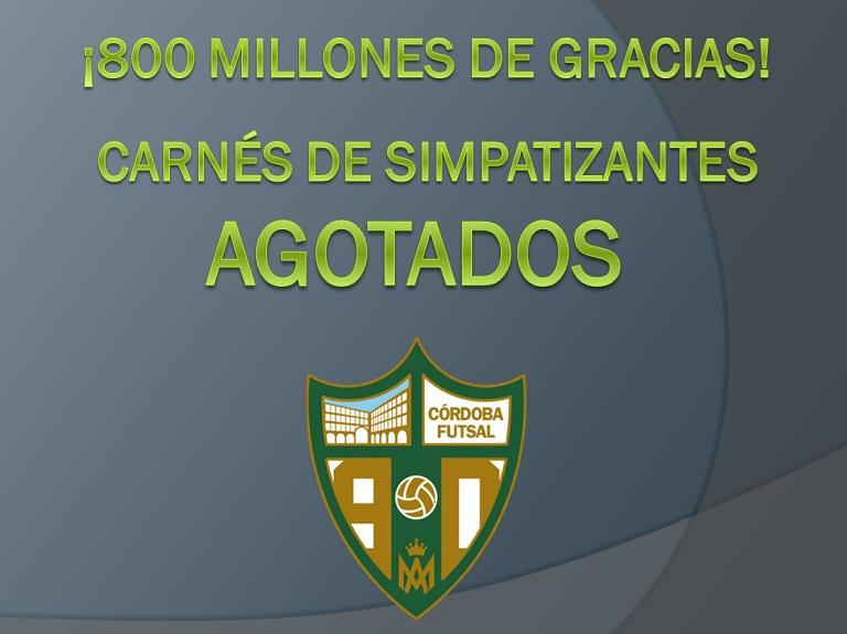 ¡800 millones de gracias!