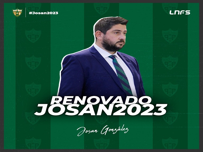Josan González, blanquiverde hasta 2023
