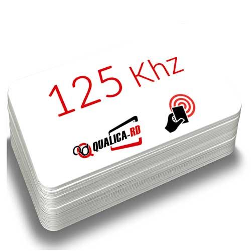 TARJETA BLANCA DE 125 KHZ HQ