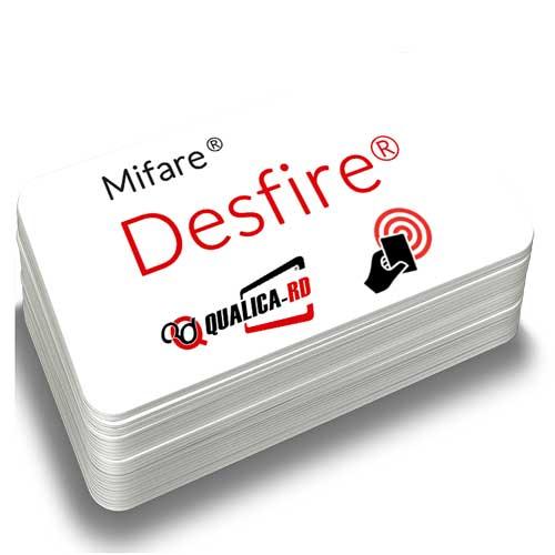 TARJETA BLANCA MIFARE® NXP DESFIRE 4K
