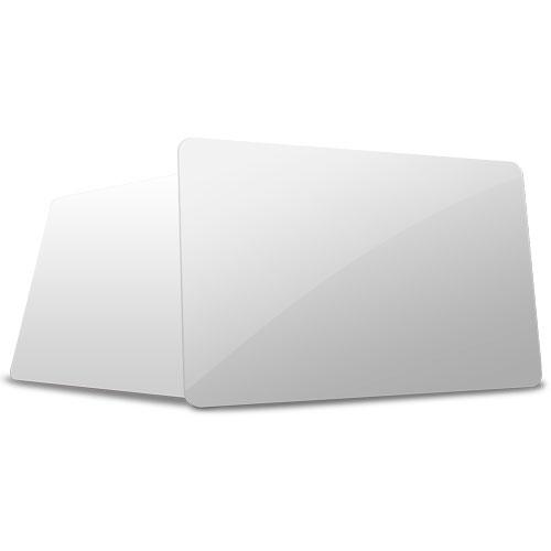 TARJETA PVC BLANCA 0,76 mm BIODEGRADABLE  PET