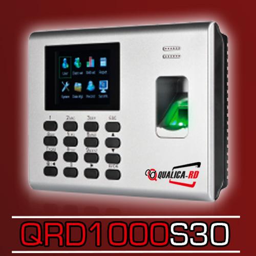 LECTOR QRD1000 HUELLA, RFID 125KHZ, TECLADO, PANTALLA