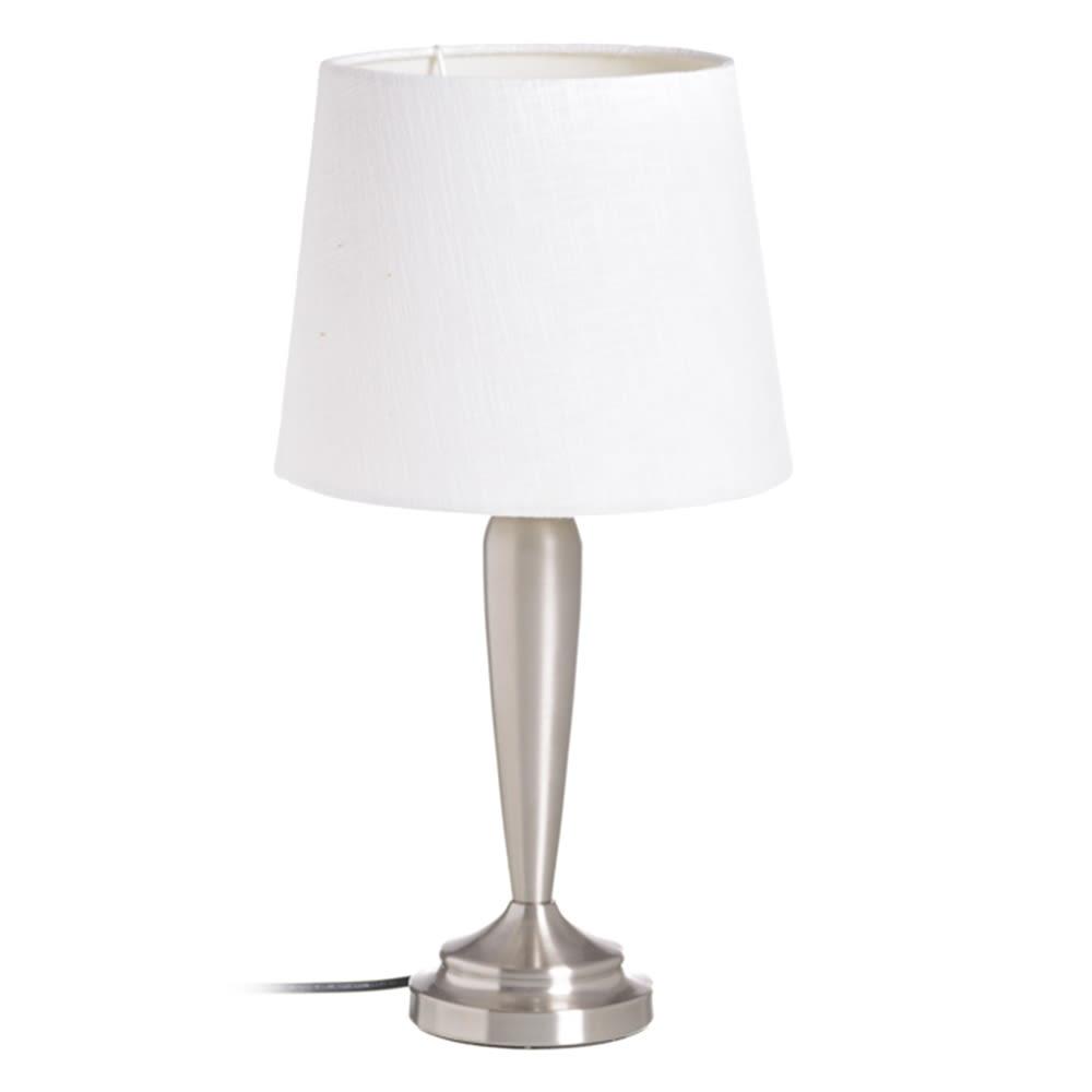 LAMPARA MESA PLATA 153505