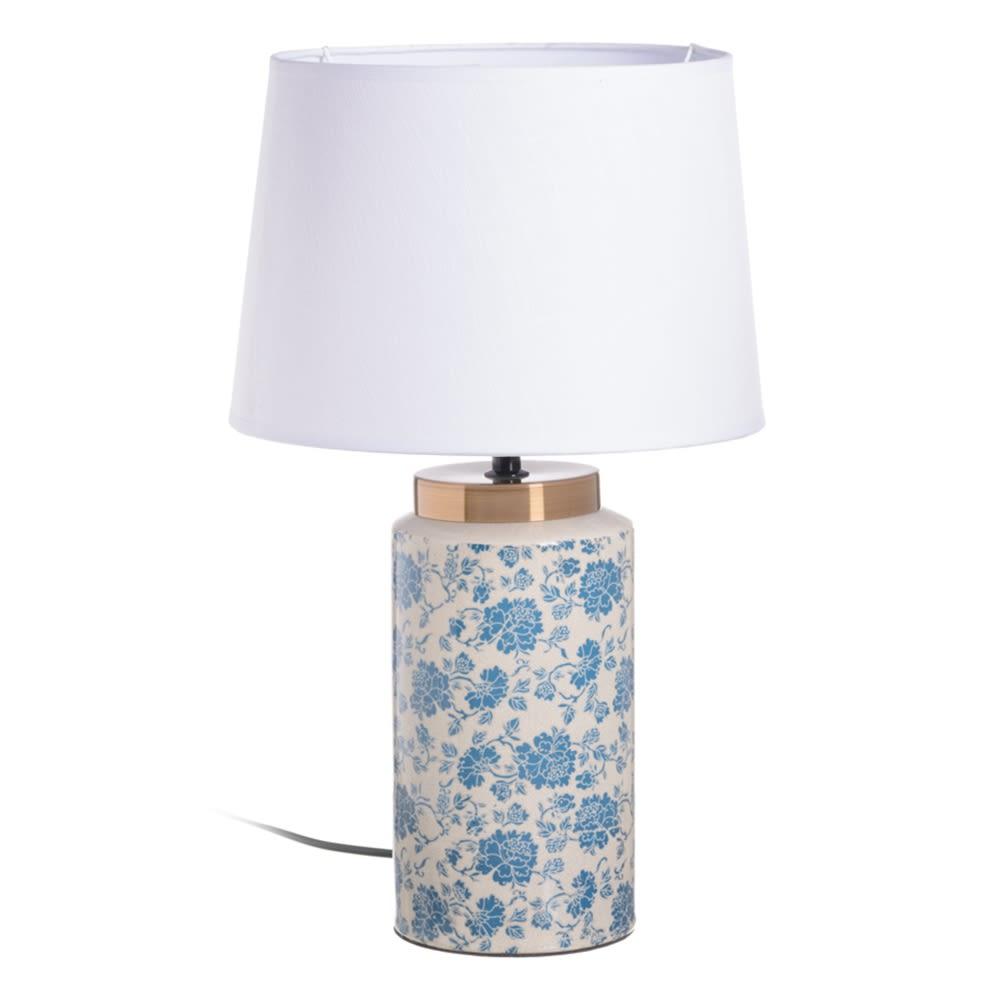 LAMPARA MESA FLORES 153544