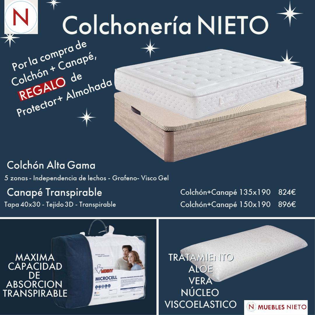COLCHON DORXIAL + CANAPE (135x190) (Promocion Espe...