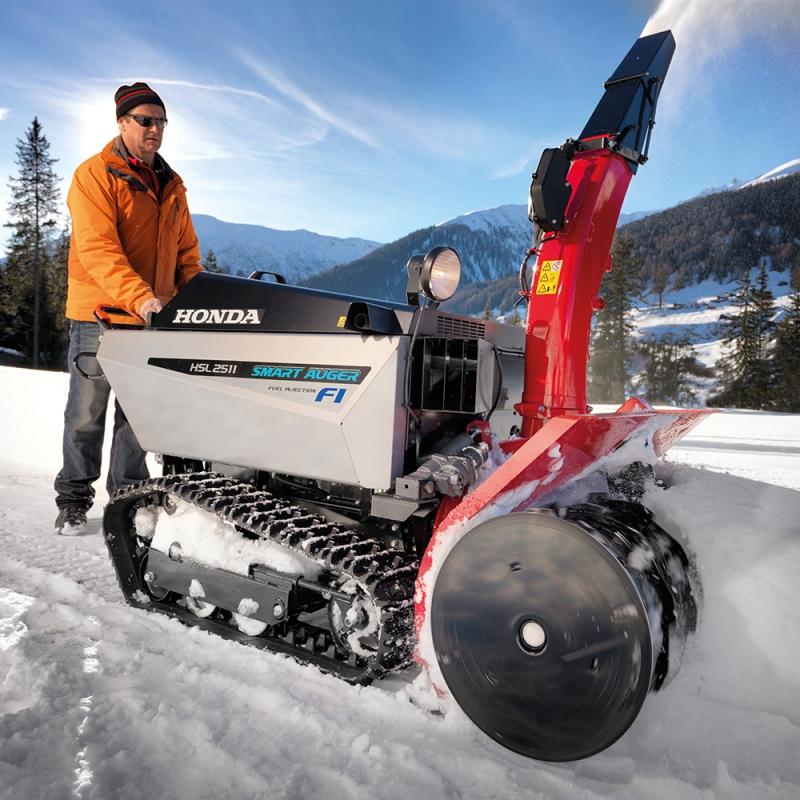 HONDA QUITANIEVES HSL 2511 E SNOWFIGHTER