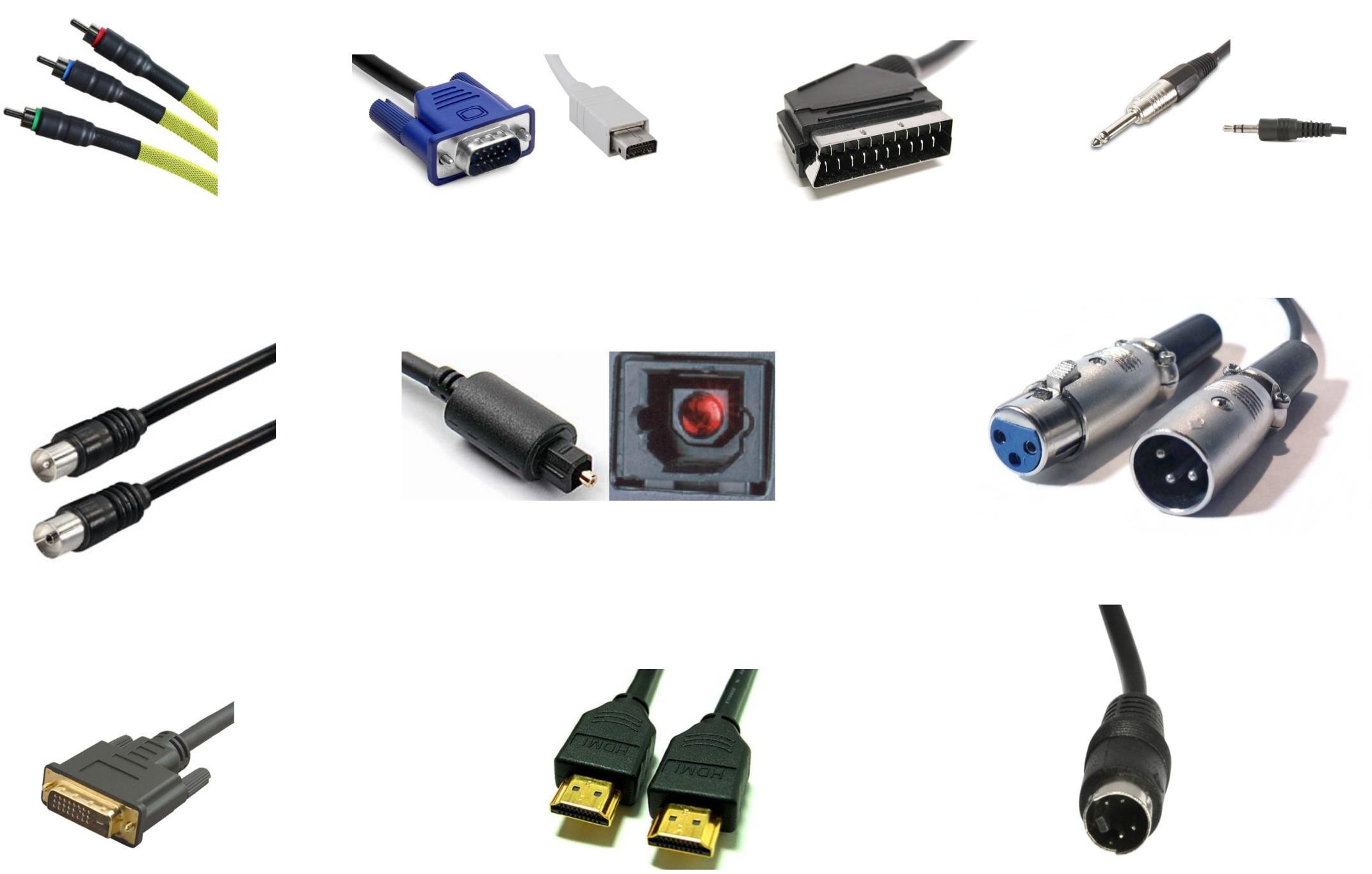 CONECTORES, CONEXIONES Y ADAPTADORES