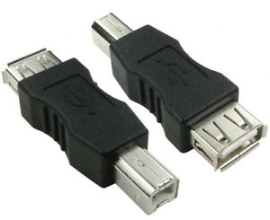 ADAP. USB HEMBRA - USB IMPRESORA HEMBRA