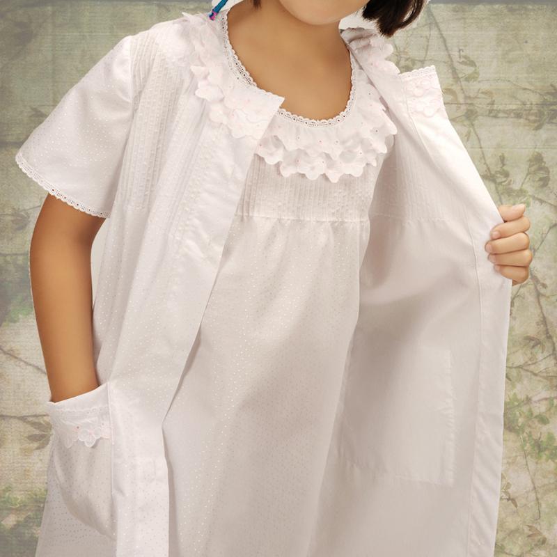 Conjunto infantil de camisón. Modelo Daisy