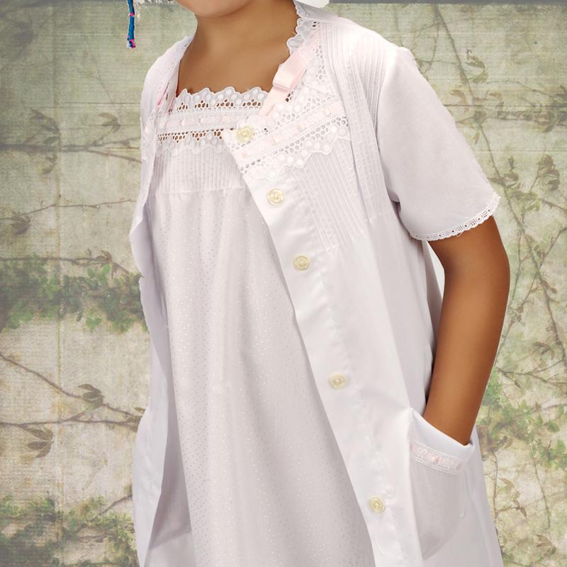 Conjunto infantil blanco. Modelo Simba