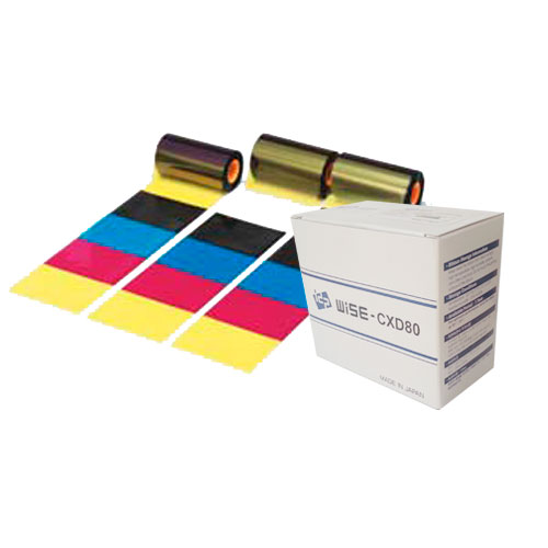 KIT CINTA COLOR IMPRESORA QUALICA-RD DNP CXD80 YMCK + FILM 1000 PRINTS