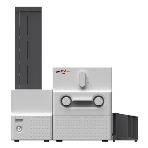 IMPRESORA QUALICA-RD5000. CARGADOR DE 500 Y RECEPTÁCULO DE 100 TARJETAS.