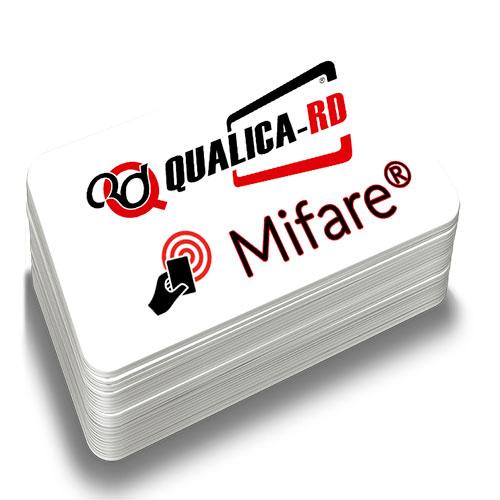 TARJETA BLANCA MIFARE® EV1 NXP 1K 4bytes
