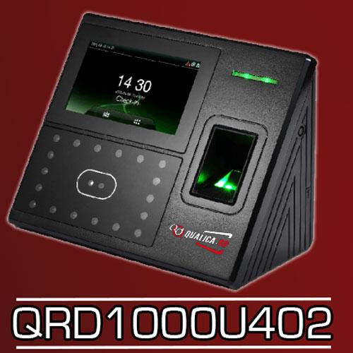 LECTOR QRD1000U402 RECONOCIMIENTO FACIAL+HUELLA+RFID, PANTALLA TACTIL